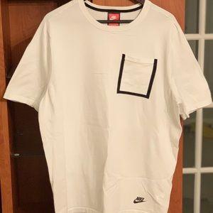 Nike Sptwr Tech Knit Men's Top White 729397 100 XL